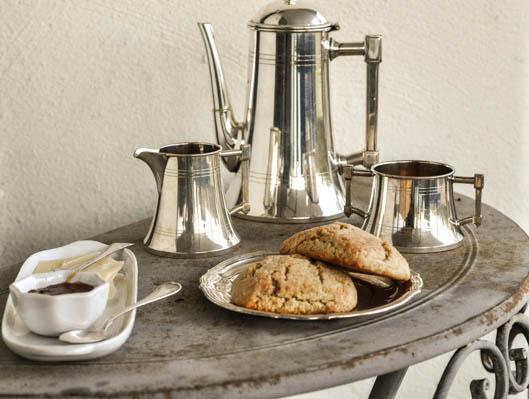 scones med vaniljyoghurt